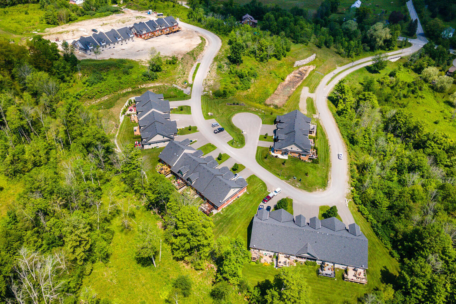 Orchard Hill Country Townhome development