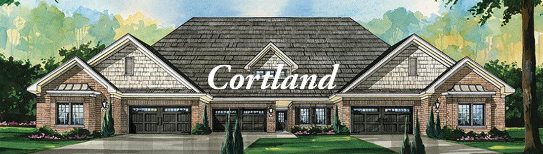 Artist rendering of The Cortland